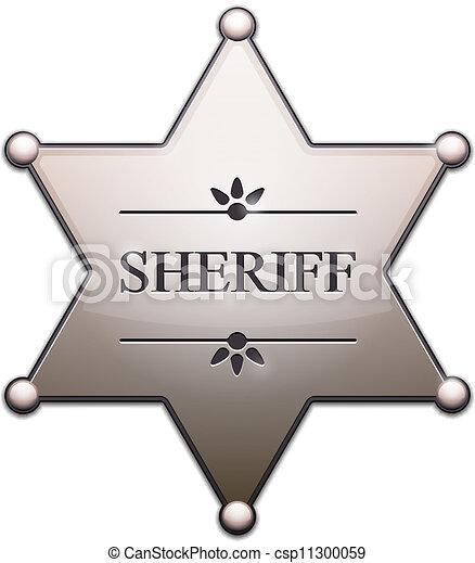 星, 保安官 - csp11300059