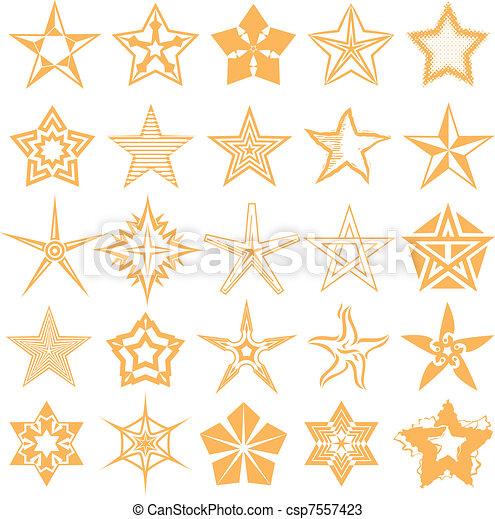 星, 彙整 - csp7557423