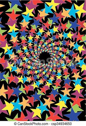 星, 背景 - csp34934650