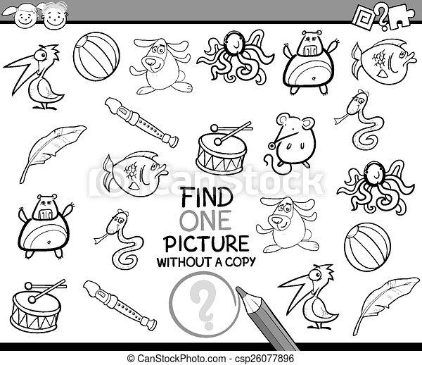 映像, 単一, ゲーム, 漫画, ファインド - csp26077896