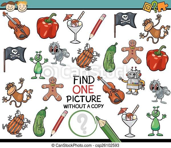 映像, 単一, ゲーム, 漫画, ファインド - csp26102593