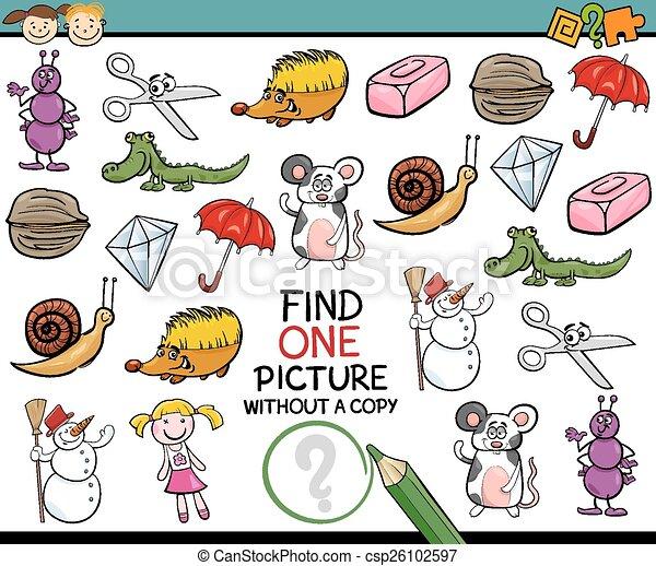 映像, 単一, ゲーム, 漫画, ファインド - csp26102597