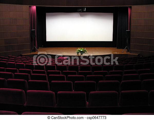 映画館 - csp0647773