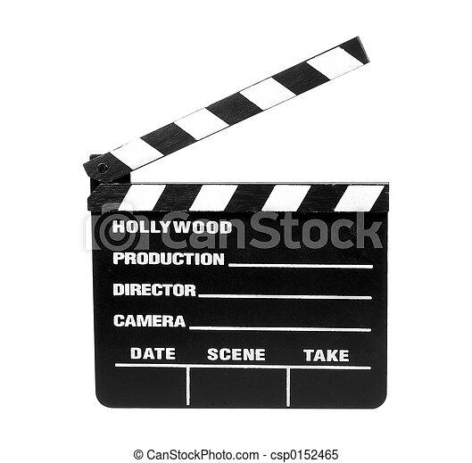 映画, スレート, -, クリッピング道 - csp0152465