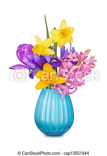春の花, カラフルである, つぼ - csp13551944