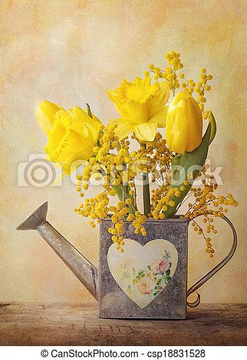 春の花 - csp18831528