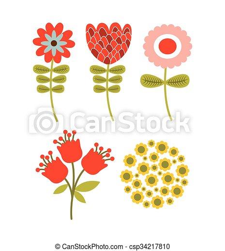 春の花 デザイン グラフィック Eps10 春 イラスト ベクトル 花