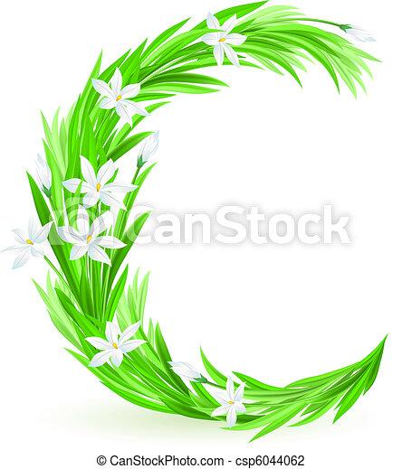 春の花, 手紙, 1(人・つ) - csp6044062