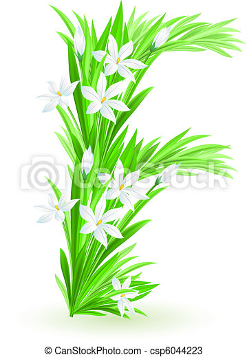 春の花, 手紙, 1(人・つ) - csp6044223