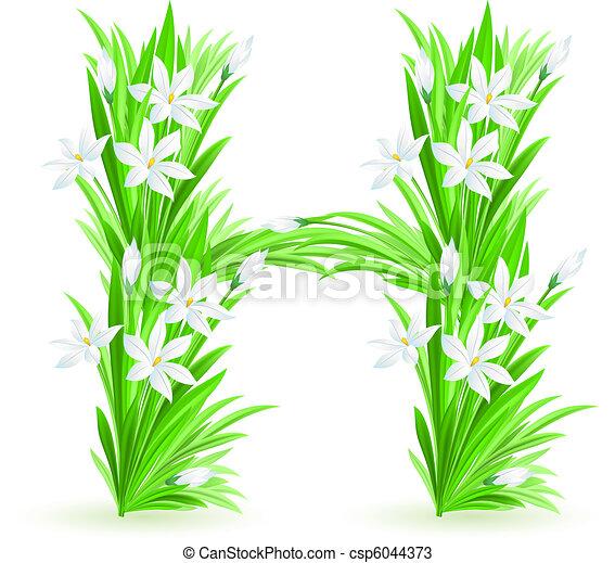 春の花, 手紙, 1(人・つ) - csp6044373