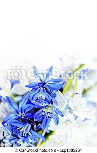 春の花, 背景 - csp1383261