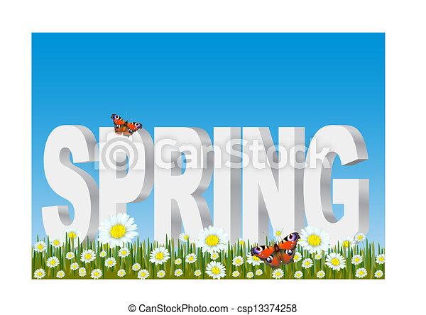 春天 - csp13374258