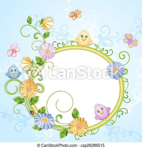春 イラスト 美しい かわいい Butterflies イラスト 春の花 鳥
