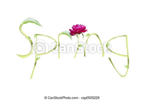 春 - csp0505229