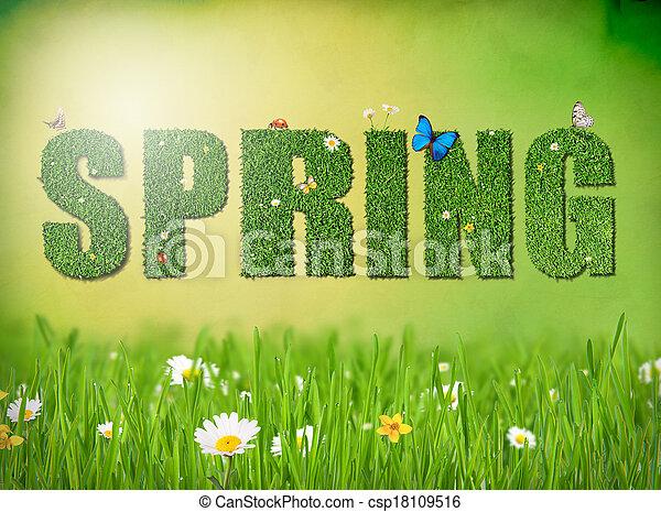 春 - csp18109516