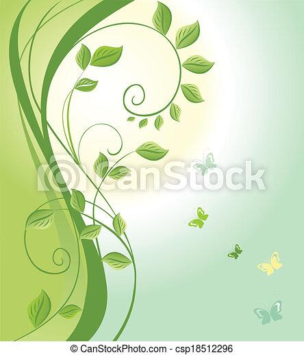 春, 日の出 - csp18512296