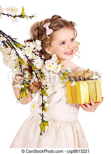 春, flower., 子供 - csp8813221