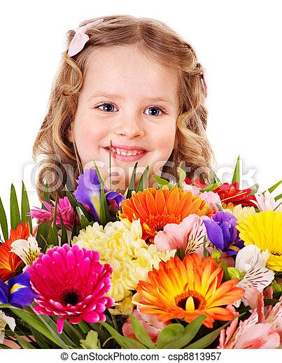 春, flower., 子供 - csp8813957
