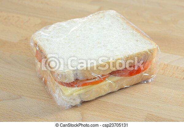 昼食, パックされた - csp23705131