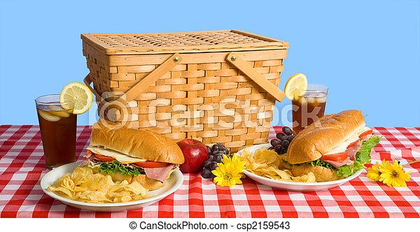 昼食, ピクニック - csp2159543