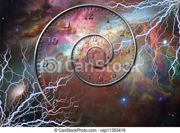 時間, スペース - csp11353416