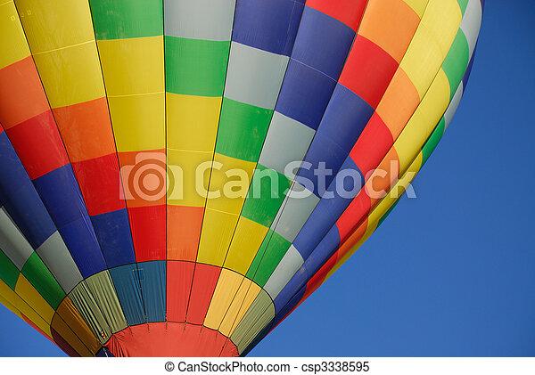 暑い, 風船, 空気 - csp3338595