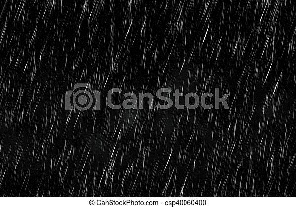 暗い, 雨 - csp40060400
