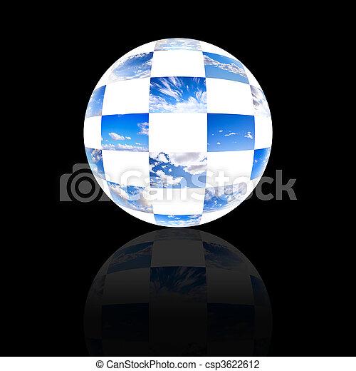 曇った空, コレクション, 地球 - csp3622612