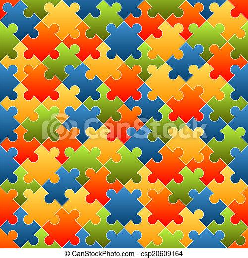 有色人種, 困惑, -, 小片, 背景, 無限 - csp20609164
