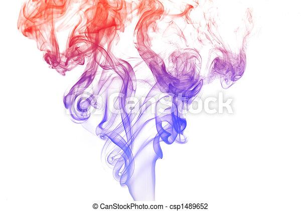 有色人種, 煙 - csp1489652