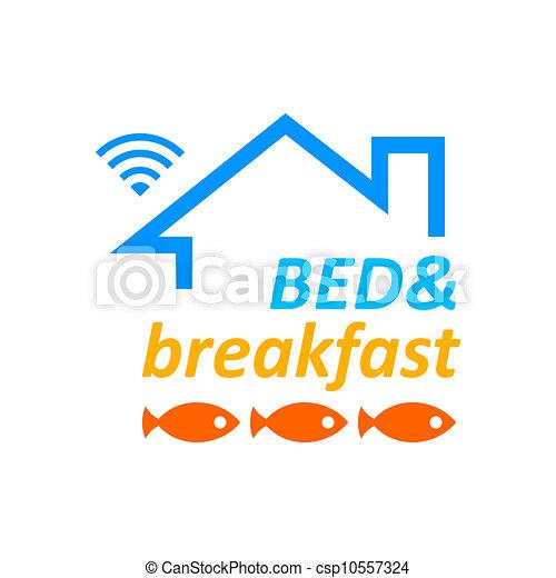 朝食, ベッド, & - csp10557324