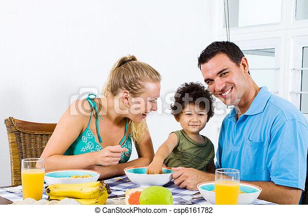 朝食, 家族 - csp6161782