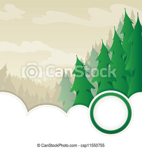 木刻, 荒野 - csp11550755
