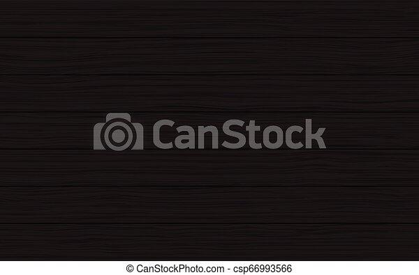 木手ざわり, ベクトル, 黒い背景, 板 - csp66993566
