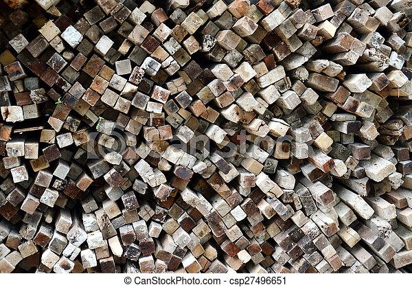 木材を伐採する, 背景 - csp27496651