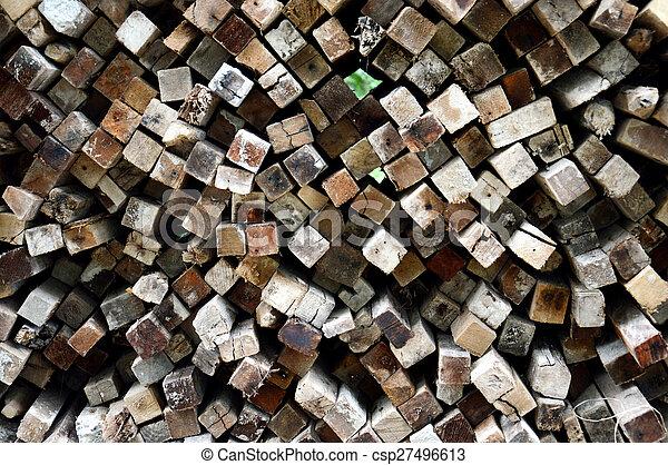 木材を伐採する, 背景 - csp27496613