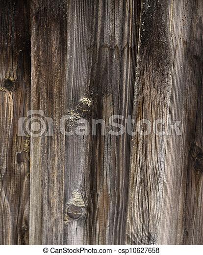 木製である, 古い, 手ざわり, 背景 - csp10627658