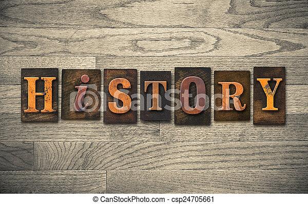 木製である, 概念, 凸版印刷, 歴史 - csp24705661