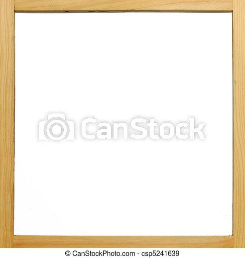 木製のフレーム, 白人の委員会 - csp5241639