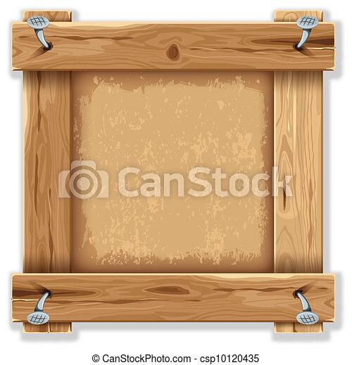 木製のフレーム - csp10120435