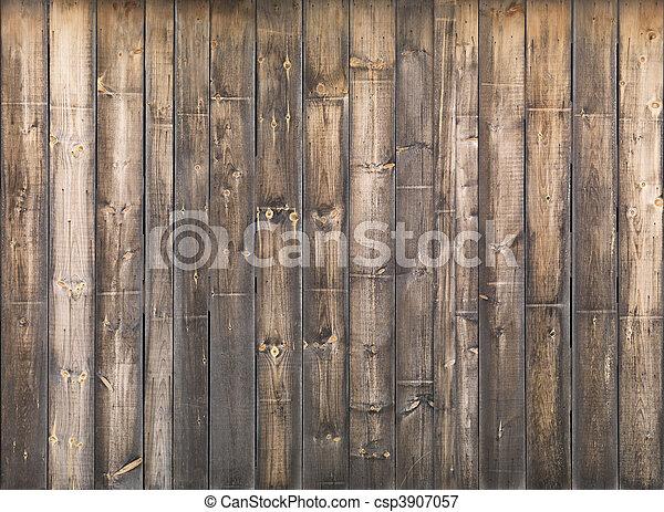 木製の壁, 手ざわり - csp3907057