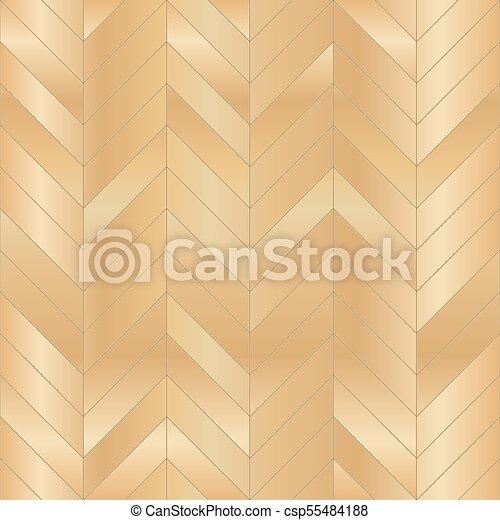 木製の 床, pattern., seamless, イラスト, ベクトル, 寄せ木張りの床 - csp55484188