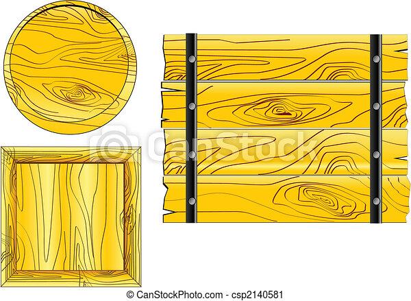 木製板 - csp2140581