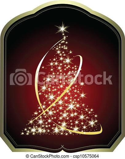 木, クリスマス - csp10575064