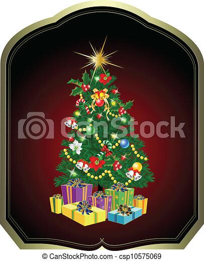 木, クリスマス - csp10575069