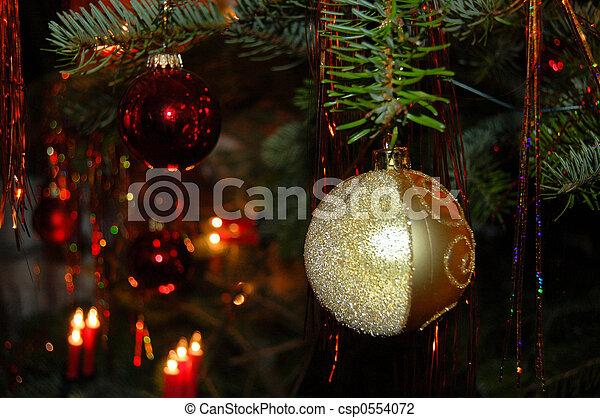 木, クリスマス - csp0554072