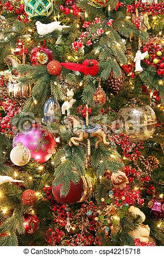 木, クリスマス - csp42215718