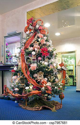 木, クリスマス - csp7987681