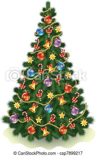 木, クリスマス - csp7899217