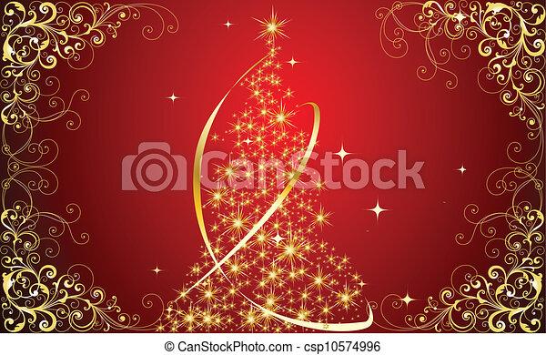 木, クリスマス - csp10574996